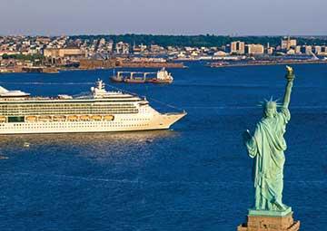 crucero por Cape Liberty (N. Jersey)