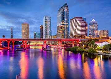 crucero por Tampa (EEUU)