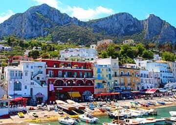 crucero por Capri (Italia)