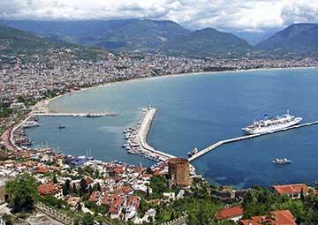 crucero por Alanya (Turquía)