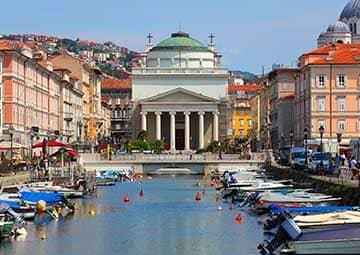 crucero por Trieste (Italia)