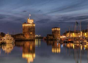 crucero por La Rochelle (Francia)