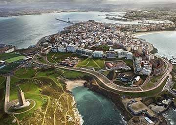 crucero por La Coruña