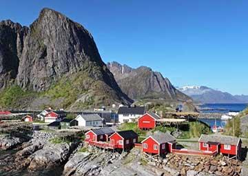 crucero por Leknes (Lofoten, Noruega)