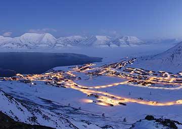 crucero por Longyearbyen (Noruega)