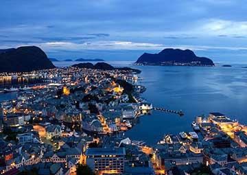 crucero por Hammerfest (Noruega)