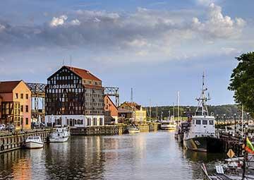 crucero por Klaipeda (Lituania)