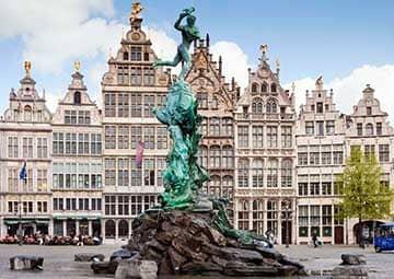 crucero por Antwerp (Amberes, Bélgica)