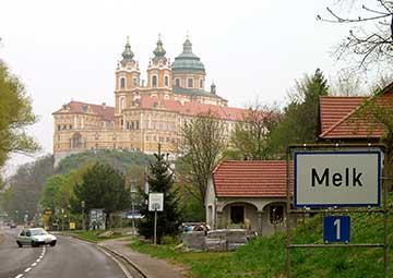 crucero por Melk (Austria)