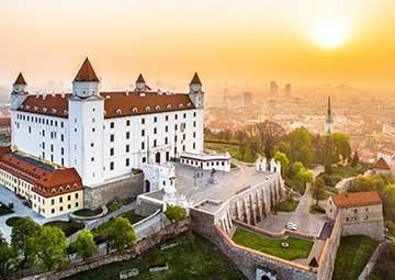 crucero por Bratislava (eslovaquia)
