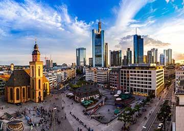 crucero por Frankfurt (Alemania)
