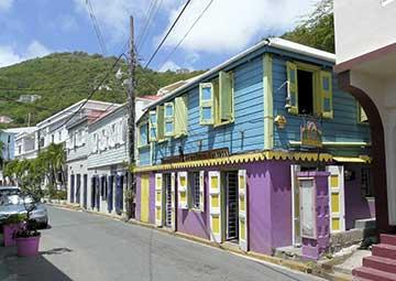 crucero por Road Town (Tórtola)