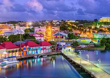 crucero por Antigua (Antillas)