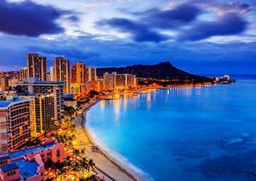 crucero por Honolulu (Hawai)