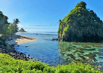 crucero por Pago Pago (Samoa Americana)