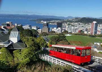 crucero por Wellington (Nueva Zelanda)
