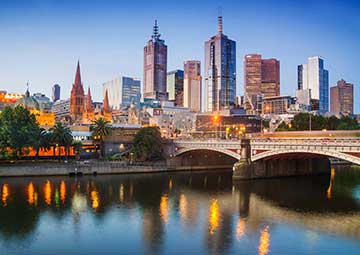 crucero por Melbourne (Australia)