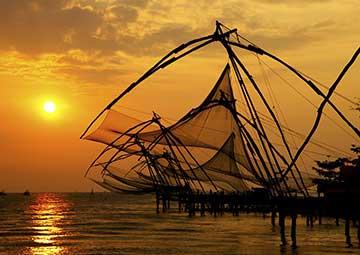crucero por Cochin (India)