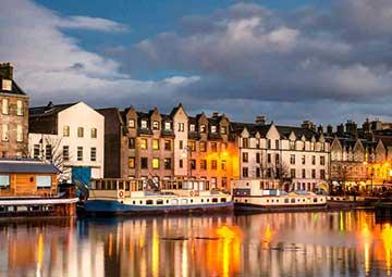 crucero por Leith (Escocia)