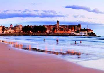 crucero por Gijón (España)