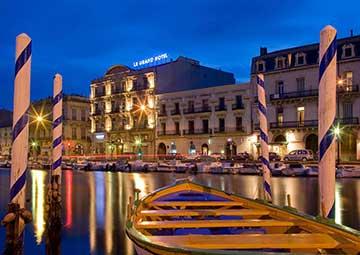 crucero por Sete (Francia)
