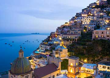 crucero por Amalfi (Italia)