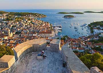 crucero por Hvar (Croacia)
