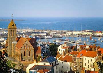 crucero por Guernsey (Gran Bretaña)