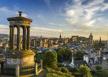 crucero por Edimburgo (Escocia)