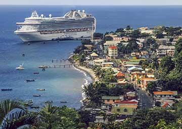 crucero por Roseau (Dominica)