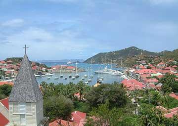 crucero por Gustavia (San Bartolomé)