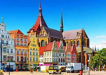crucero por Rostock (Alemania)