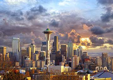 crucero por Seattle (EEUU)