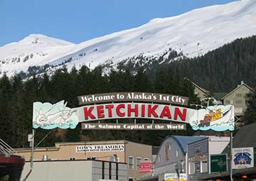 crucero por Ketchican (Alaska)