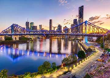 crucero por Brisbane (Australia)
