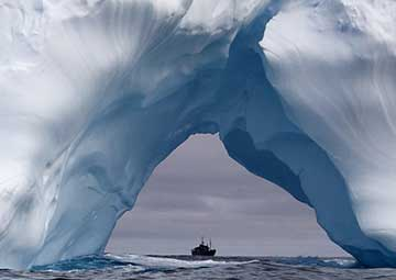 crucero por Schollart Channel (Antártica)