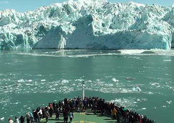 crucero por Glaciar Hubbard (EEUU)
