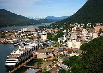 crucero por Juneau (Alaska)
