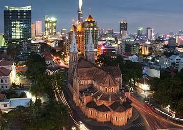 crucero por Ho Chi Minh (Vietnam)