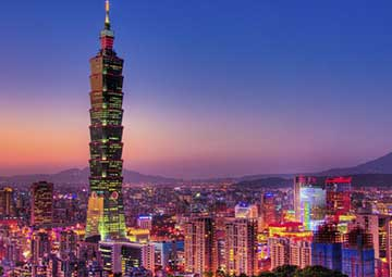 crucero por Taipei (Taiwan)