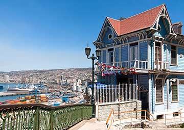 crucero por Valparaíso (Chile)
