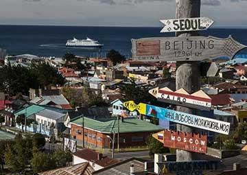 crucero por Punta Arenas (Chile)