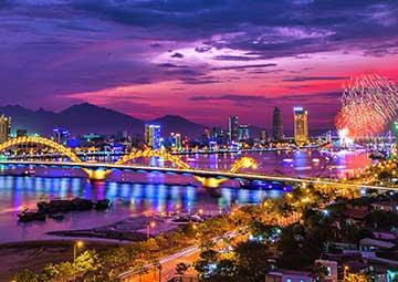 crucero por Danang (Vietnam)