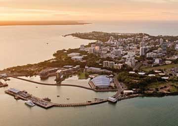 crucero por Darwin (Australia)