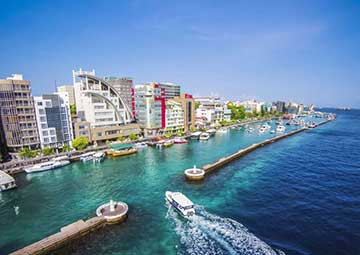 crucero por Male (Maldivas)