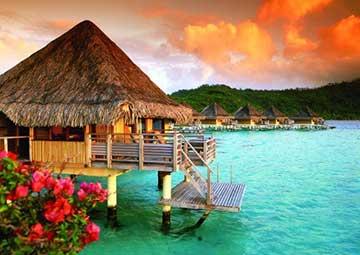 crucero por Bora Bora (Polinesia Francesa)
