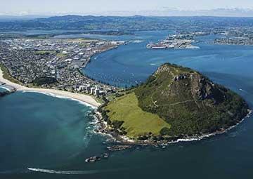 crucero por Tauranga (Nueva Zelanda)