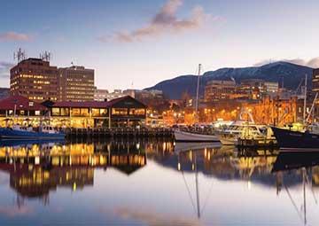 crucero por Hobart (Tasmania)