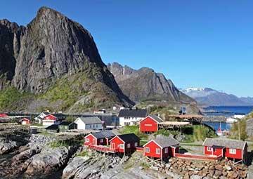 crucero por Gravdal (Noruega)