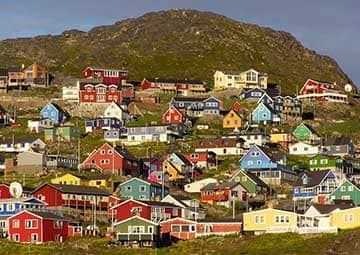crucero por Qaqortoq (Groenlandia)